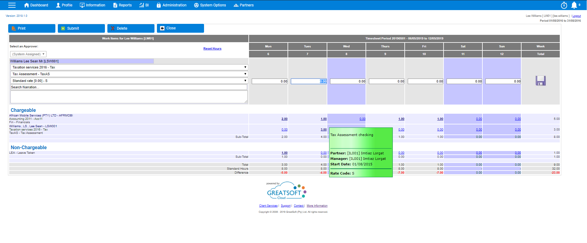 Practice Management Software for Accountants - Time & Expense Management